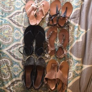 Summer sandal shoe bundle 8.5-9